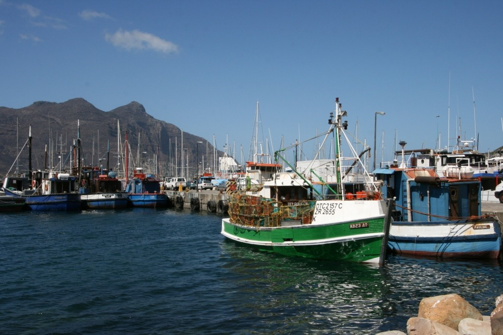 Der Hafen von Houtbay