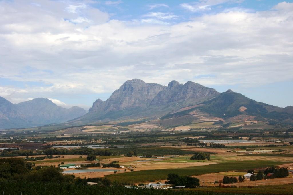 4 Berge in der Weinregion Paarl