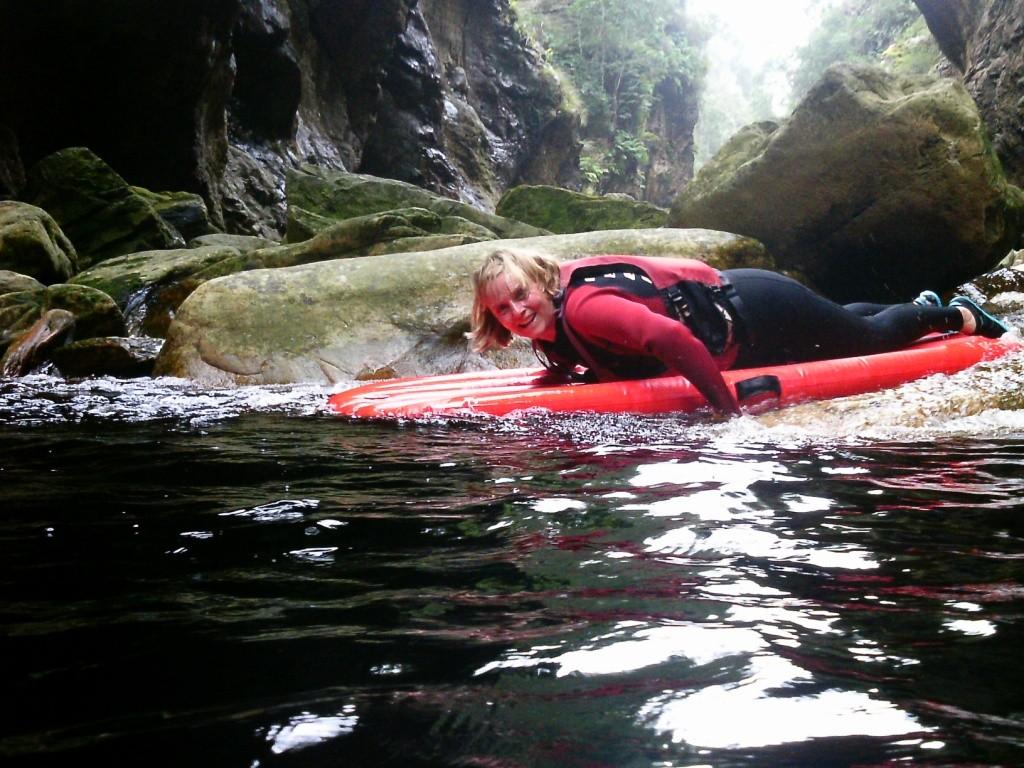 6 Kayak und Lilo-Tour im Storms River